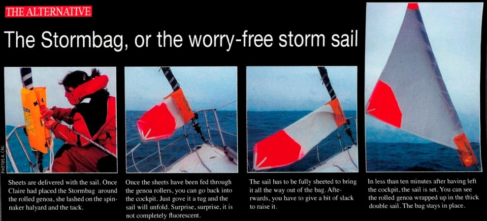 worry-free storm sail